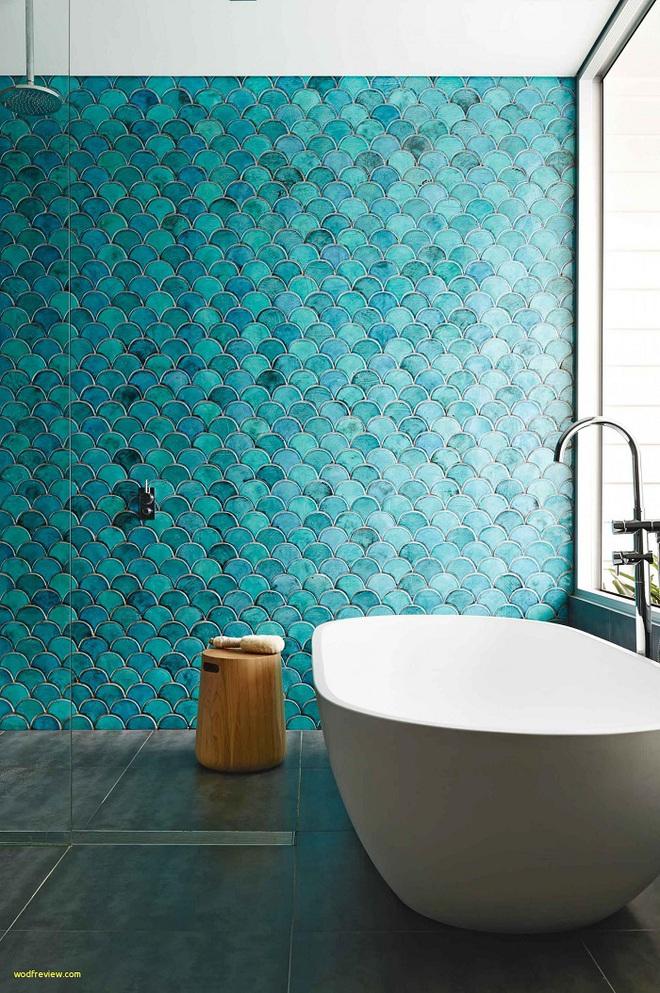 Chọn màu ngọc lam cho nhà tắm chính là xu hướng thiết kế mới nhất trong năm tới - Ảnh 5.