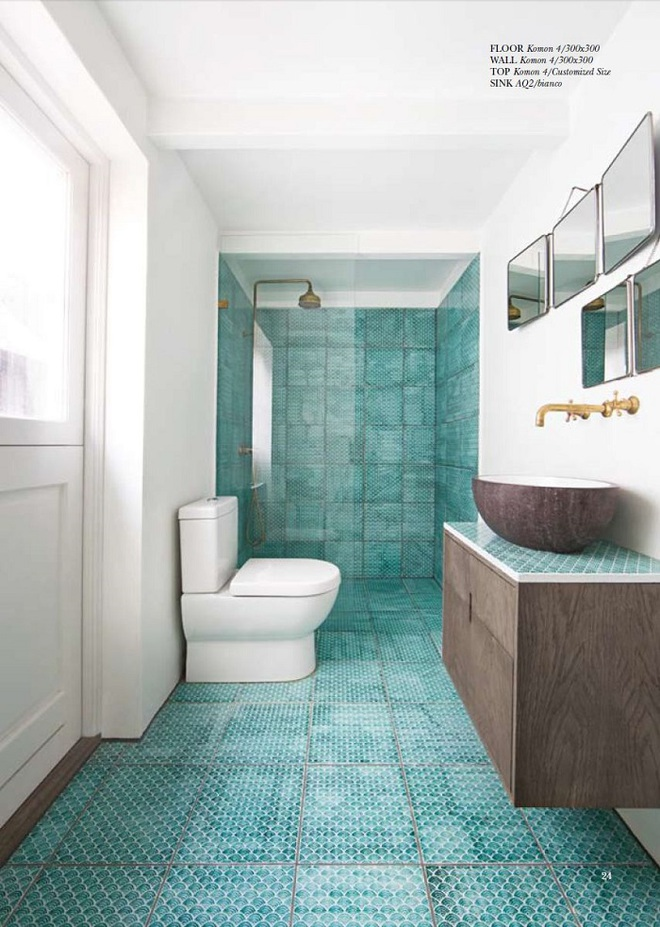 Chọn màu ngọc lam cho nhà tắm chính là xu hướng thiết kế mới nhất trong năm tới - Ảnh 8.