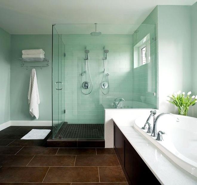 Phòng tắm sẽ dịu mát hơn đến 6 độ nhờ lựa chọn thông minh này - Ảnh 2.