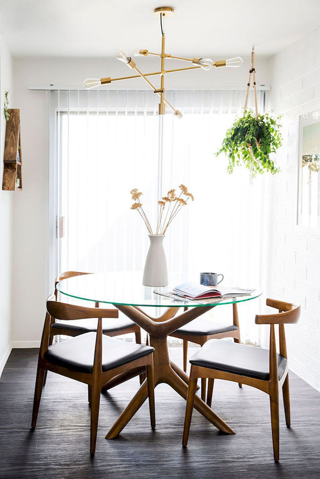 Muốn phòng ăn nhỏ nhưng vẫn thật tinh tế thì đây là lựa chọn không thể bỏ qua - Ảnh 3.