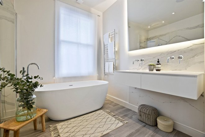 Bạn biết không, có đến 7/10 người chọn phong cách nội thất này cho nhà tắm - Ảnh 1.