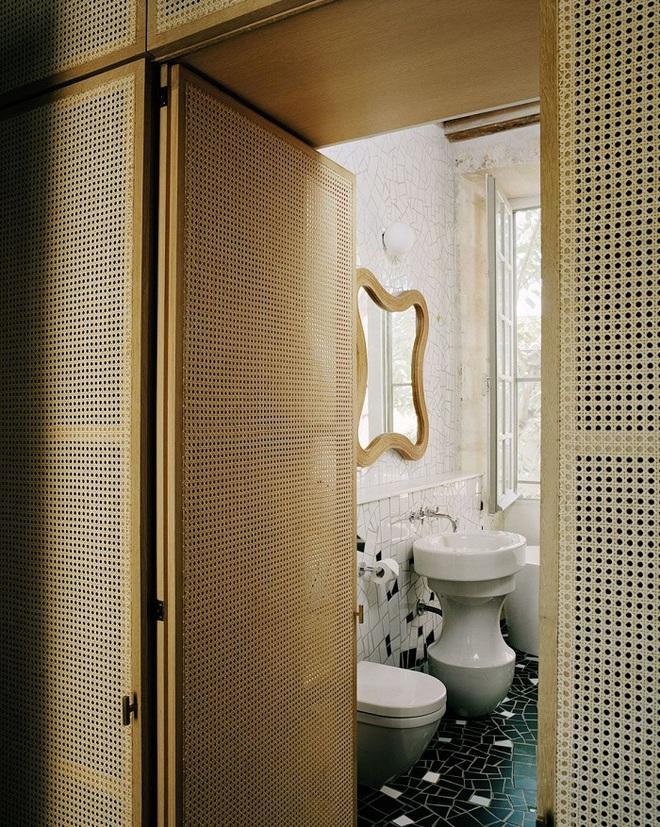 Xu hướng dùng thiết kế gỗ lưới cho nội thất trong nhà, đảm bảo đẹp không chê vào đâu được - Ảnh 4.
