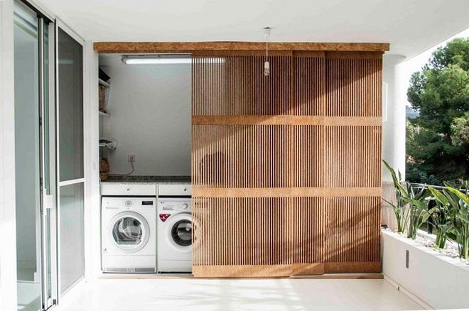 Xu hướng dùng thiết kế gỗ lưới cho nội thất trong nhà, đảm bảo đẹp không chê vào đâu được - Ảnh 7.