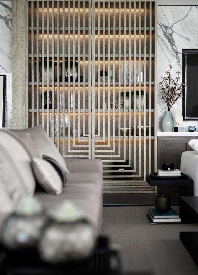 Xu hướng dùng thiết kế gỗ lưới cho nội thất trong nhà, đảm bảo đẹp không chê vào đâu được - Ảnh 8.
