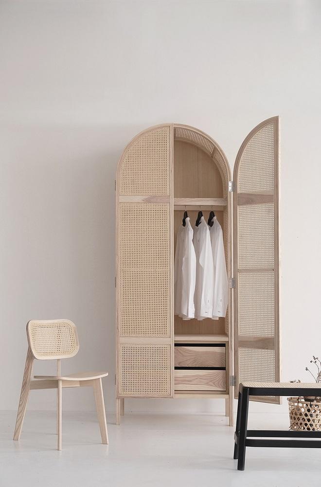 Xu hướng dùng thiết kế gỗ lưới cho nội thất trong nhà, đảm bảo đẹp không chê vào đâu được - Ảnh 9.