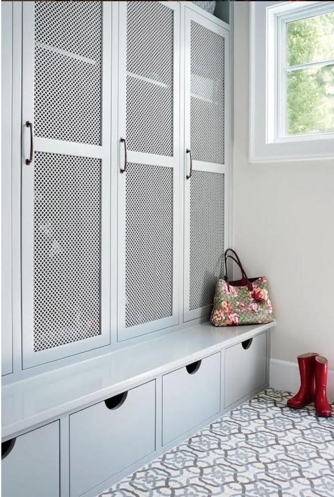 Xu hướng dùng thiết kế gỗ lưới cho nội thất trong nhà, đảm bảo đẹp không chê vào đâu được - Ảnh 12.