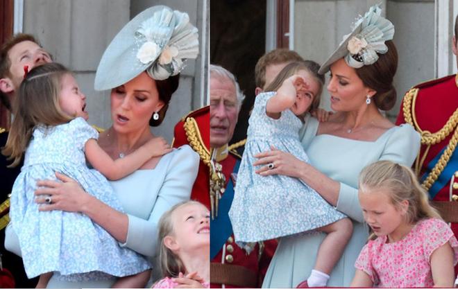Cách công nương Kate dỗ con nín khóc trước chỗ đông người được khen hết lời - Ảnh 4.
