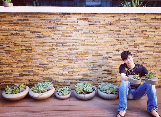 Ngắm căn hộ rộng đến 200m² và khu vườn view đẹp như trong mơ của nam ca sĩ Nathan Lee ở ngay Q1, Sài Gòn - Ảnh 9.