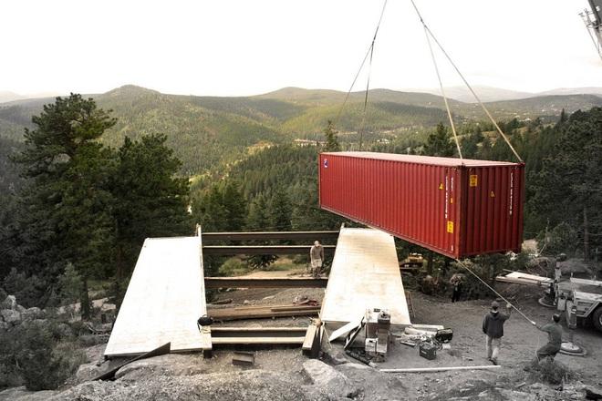 Phát sốt với 5 mẫu thiết kế cải tạo thùng container đã cũ thành nhà container vạn người mê - Ảnh 13.
