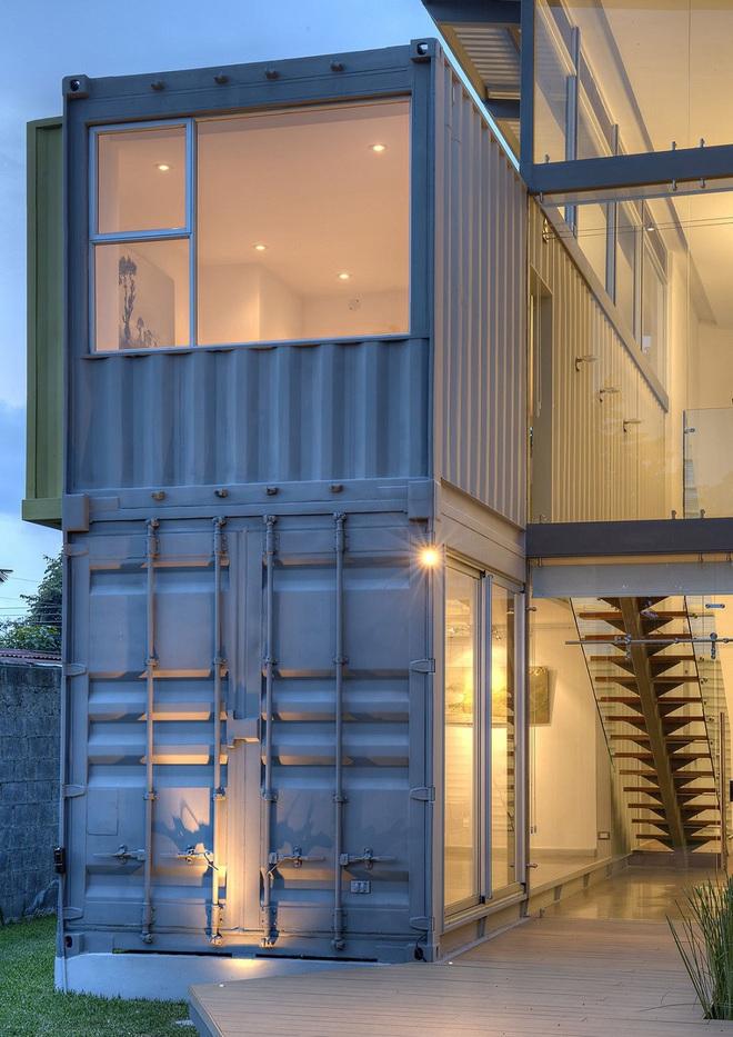 Phát sốt với 5 mẫu thiết kế cải tạo thùng container đã cũ thành nhà container vạn người mê - Ảnh 19.