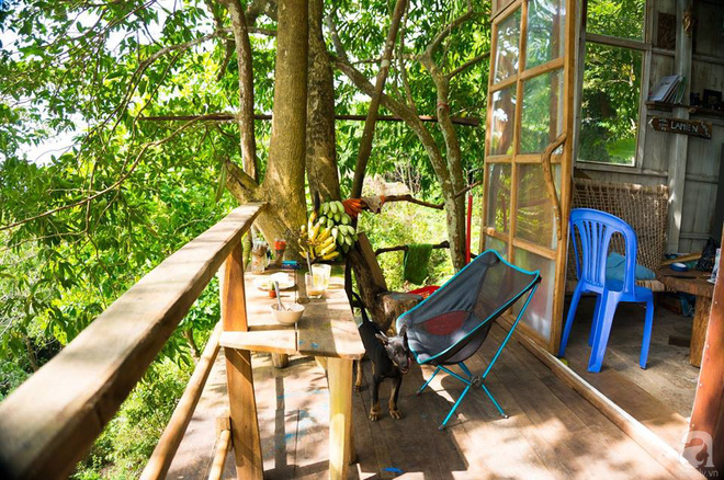 Đạo diễn trẻ bỏ Sài Gòn ra đảo sống trong căn nhà gỗ có view biển đẹp ngỡ ngàng   - Ảnh 11.