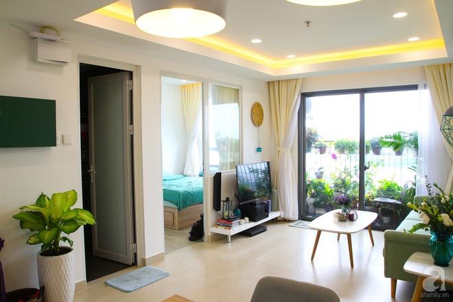Căn hộ 73m² thoáng đãng, ngập tràn màu xanh cây cỏ ở trung tâm Sài Gòn của cô gái độc thân cá tính - Ảnh 5.