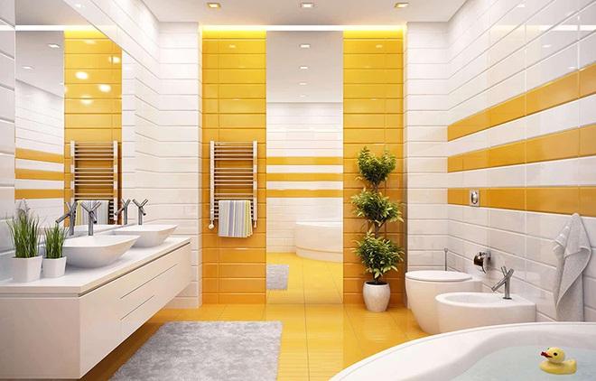 Gam màu được dự đoán hot nhất hè năm nay giờ đã phủ sóng hết căn phòng tắm của mọi gia đình - Ảnh 12.