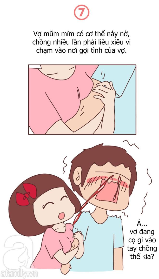 Truyện tranh: Vợ mũm mĩm khiến chồng hạnh phúc như thế này đây! - Ảnh 7.