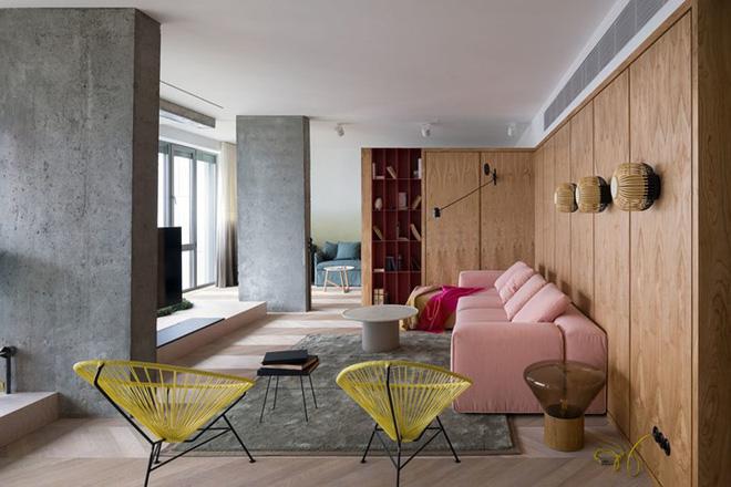 Căn hộ một phòng ngủ có thiết kế hiện đại, độc đáo - Ảnh 1.
