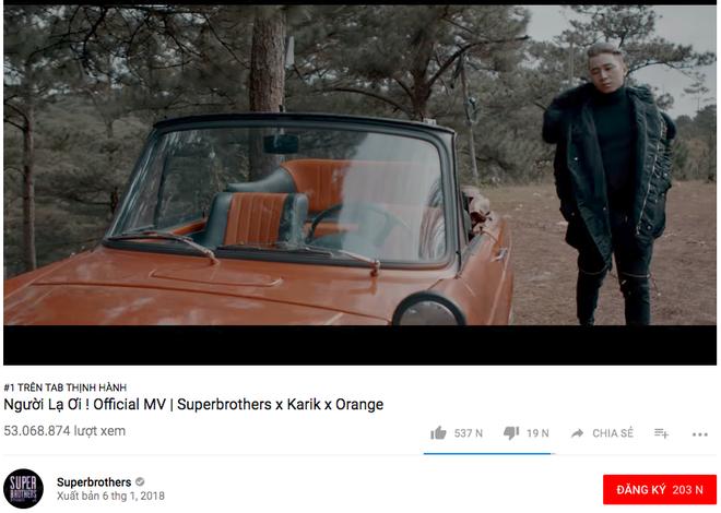 Người lạ ơi phá kỷ lục của Nơi này có anh, trở thành MV cán mốc 50 triệu lượt xem nhanh nhất Vpop chỉ sau 13 ngày - Ảnh 1.