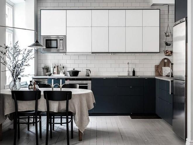 7 cách bố trí thông minh cho không gian nhà bếp thông thoáng - Ảnh 1.