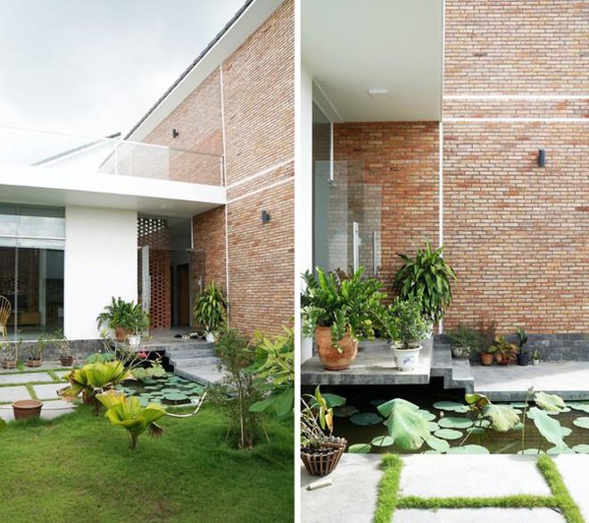 Ngôi nhà 1 tầng ở miền Tây khiến vạn người trầm trồ vì vừa đẹp, vừa tiện nghi - Ảnh 3.