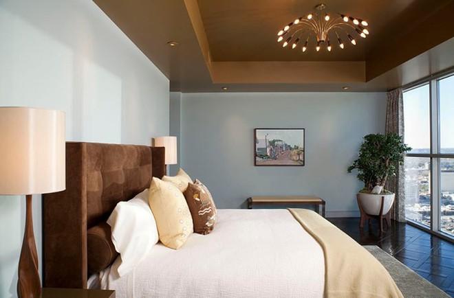 Những mẫu phòng ngủ hiện đại, thư giãn với cây cảnh - Ảnh 3.
