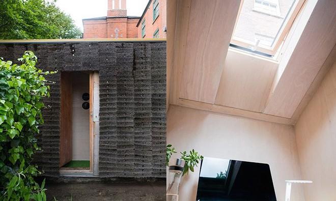 Độc đáo căn nhà được làm từ hơn 500 cây chổi dừa - Ảnh 4.