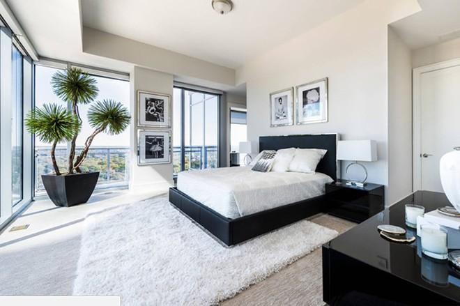 Những mẫu phòng ngủ hiện đại, thư giãn với cây cảnh - Ảnh 4.