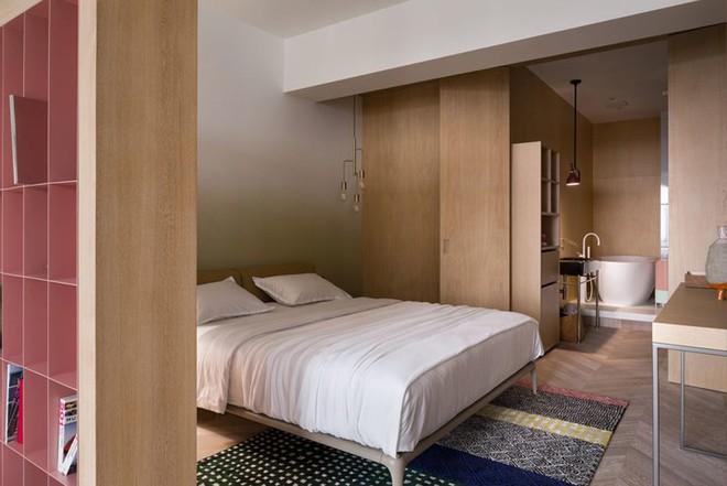 Căn hộ một phòng ngủ có thiết kế hiện đại, độc đáo - Ảnh 8.