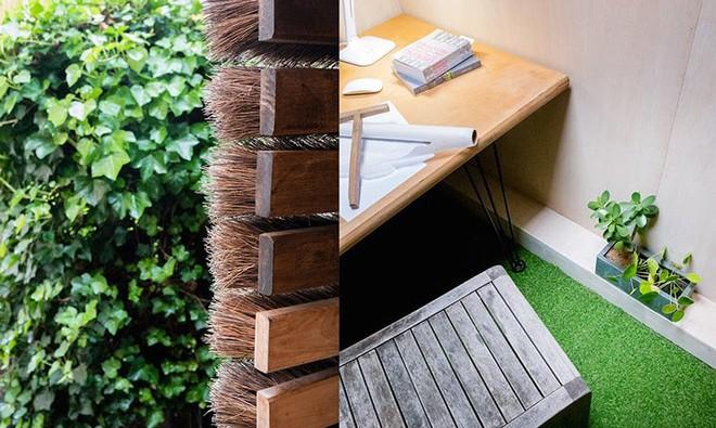 Độc đáo căn nhà được làm từ hơn 500 cây chổi dừa - Ảnh 9.