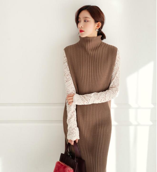 Thêm một cách diện layer áo len/áo nỉ cực xinh cho các nàng nữ tính - Ảnh 10.