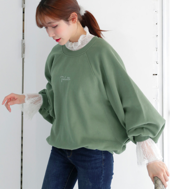 Thêm một cách diện layer áo len/áo nỉ cực xinh cho các nàng nữ tính - Ảnh 8.