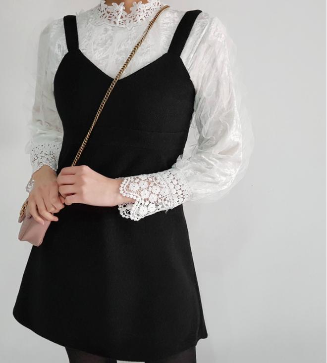 Thêm một cách diện layer áo len/áo nỉ cực xinh cho các nàng nữ tính - Ảnh 12.