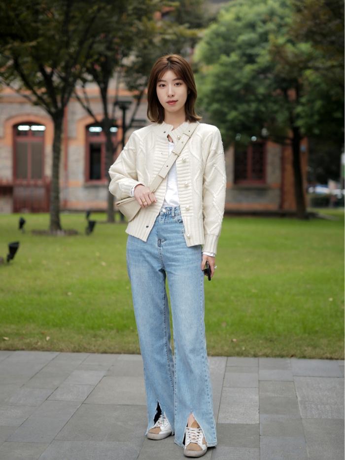 Street style Châu Á: Quần jeans là được chọn nhiều nh - Ảnh 14.