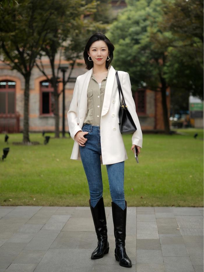 Street style Châu Á: Quần jeans là được chọn nhiều nh - Ảnh 7.
