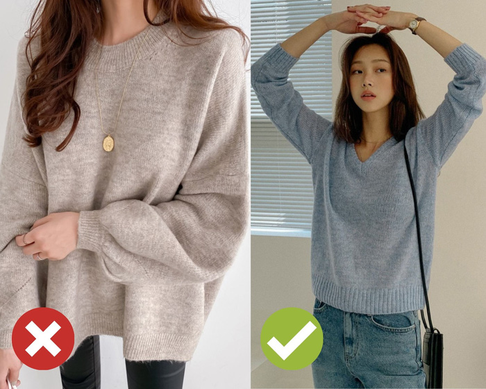4 mẹo chọn áo len giúp vóc dáng như gầy đi 5kg, đơn giản lắm nhưng khối chị em chẳng biết - Ảnh 1.