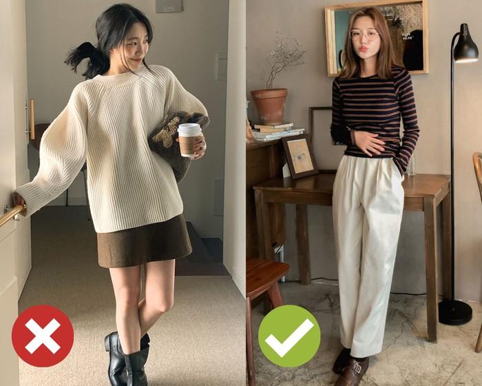 4 mẹo chọn áo len giúp vóc dáng như gầy đi 5kg, đơn giản lắm nhưng khối chị em chẳng biết - Ảnh 2.