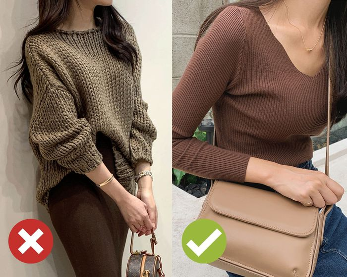 4 mẹo chọn áo len giúp vóc dáng như gầy đi 5kg, đơn giản lắm nhưng khối chị em chẳng biết - Ảnh 4.