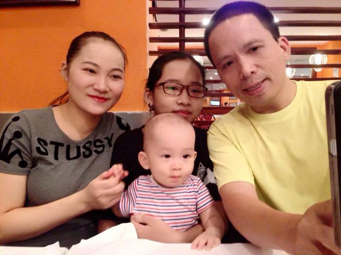 Gia đình hạnh phúc của vợ chồng Nhung