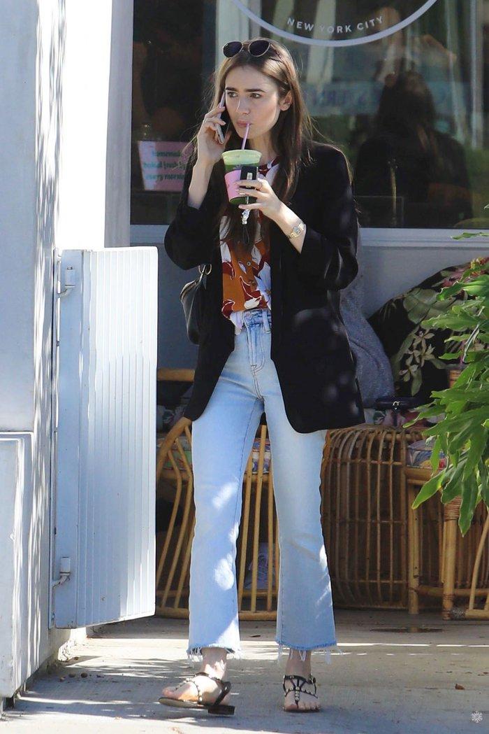 Lily Collins chuyên diện đồ trẻ trung nên 32 tuổi vẫn chẳng khác gì gái đôi mươi - Ảnh 8.