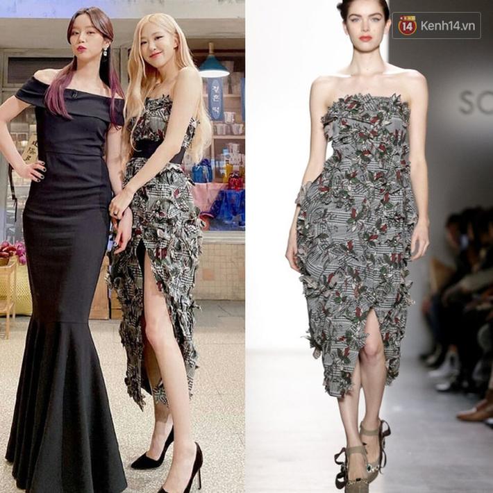 Stylist lên đồ cho Rosé không phải lúc nào cũng chuẩn: Có bộ ok lah, có bộ lại kém sang hơn bản gốc - Ảnh 3.
