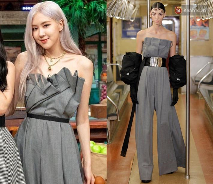 Stylist lên đồ cho Rosé không phải lúc nào cũng chuẩn: Có bộ ok lah, có bộ lại kém sang hơn bản gốc - Ảnh 1.