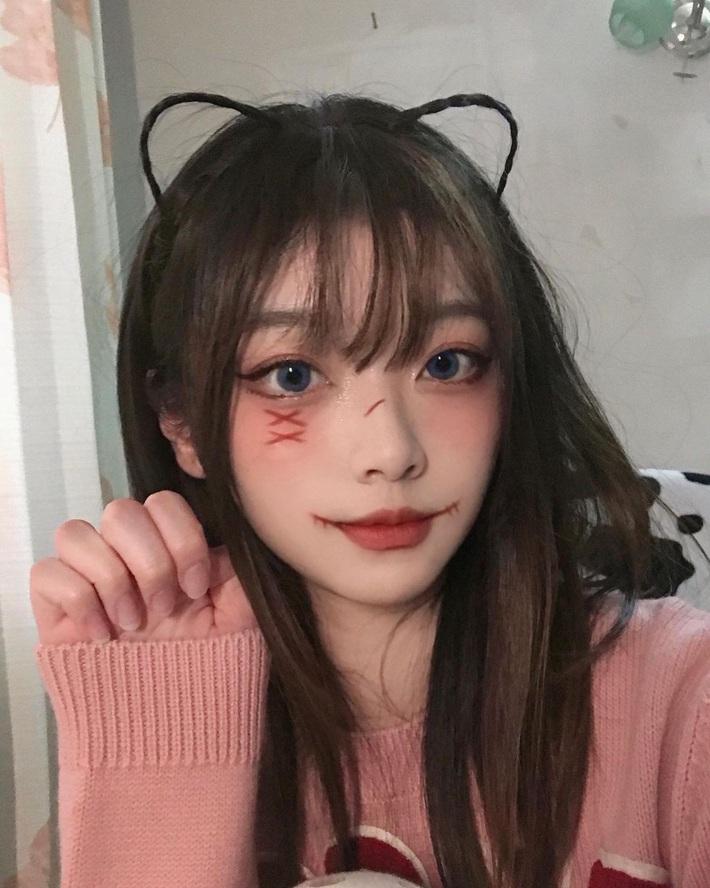 Loạt gợi ý makeup chơi Halloween: Đảm bảo ma mị nhưng vẫn xinh, các nàng không lo visual mất điểm - Ảnh 3.