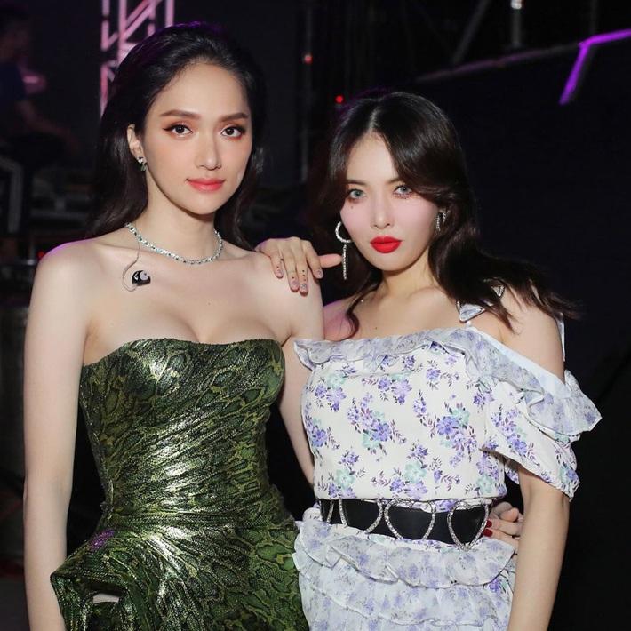 Hương Giang chung khung hình với sao Hàn - Thái: Váy áo, makeup nổi bật hơn, nhưng vẫn có một lần thua thiệt - Ảnh 4.