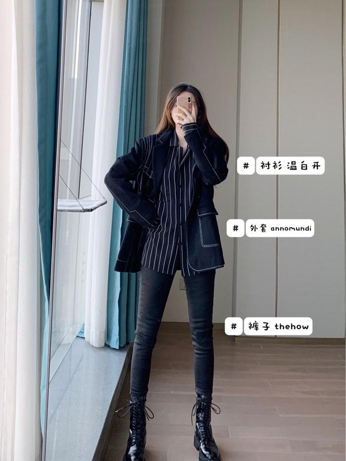 7 cách diện blazer từ cool ngầu đến thanh lịch, quan trọng là hack chân dài khiến bạn muốn bắt chước ngay  - Ảnh 4.