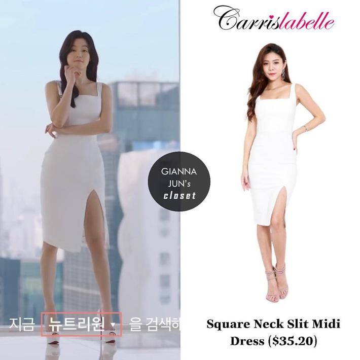 Bà hoàng sang chảnh Jeon Ji Hyun đã diện váy bình dân thì váy ắt sang gấp 10 lần thiết kế gốc, đẹp lấn át cả mẫu hãng - Ảnh 4.