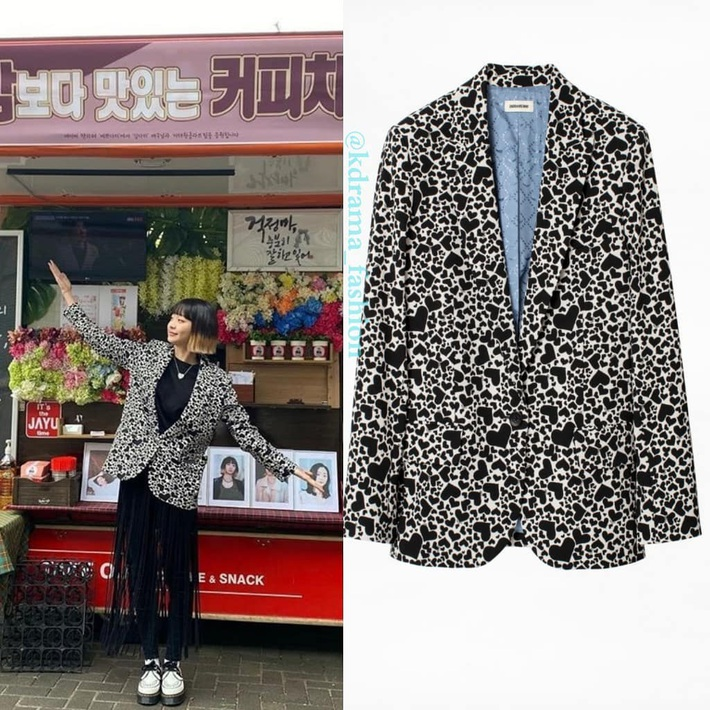 """Style công sở """"nửa nạc nửa mỡ"""" của Kim Da Mi: Đa phần sang chảnh bất ngờ nhưng vẫn lọt hố vài bộ khó cảm - Ảnh 3."""