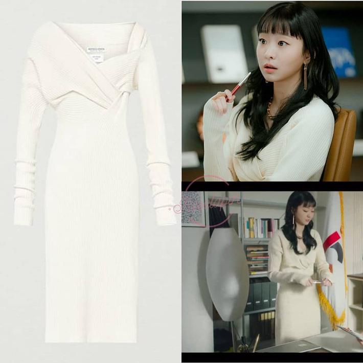 """Style công sở """"nửa nạc nửa mỡ"""" của Kim Da Mi: Đa phần sang chảnh bất ngờ nhưng vẫn lọt hố vài bộ khó cảm - Ảnh 7."""