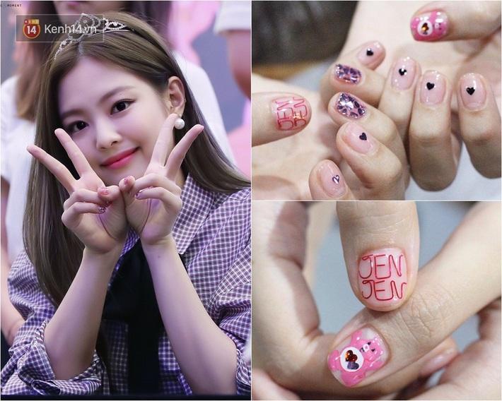 Jennie có cả loạt nail đã chanh xả còn xinh muốn xỉu, nhìn là muốn bắt chước ngay một bộ y hệt - Ảnh 2.