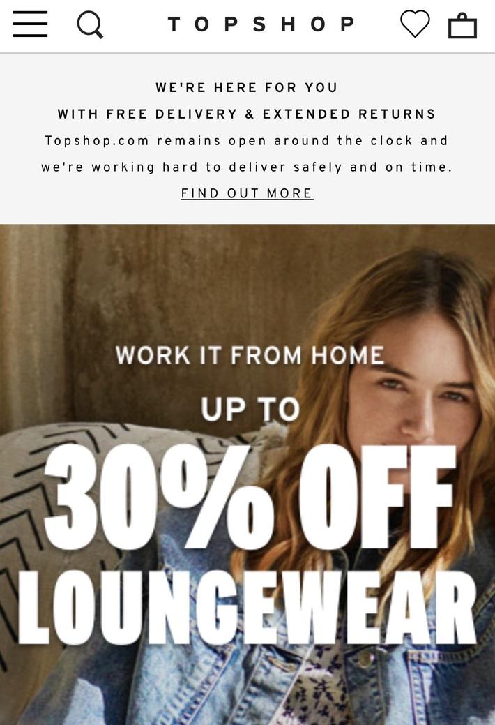 Còn gì vui hơn ở nhà shopping online: Bao nhiêu brand thời trang đang sale đây này chị em đã update chưa? - Ảnh 16.