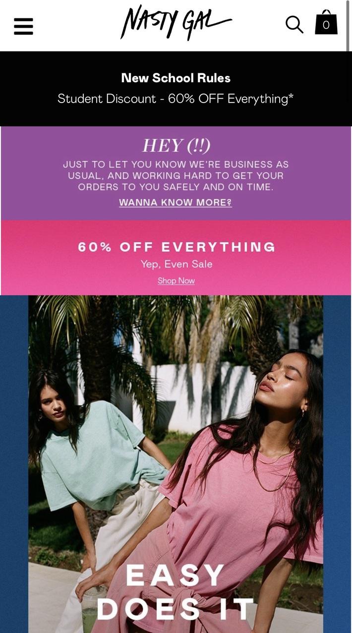 Còn gì vui hơn ở nhà shopping online: Bao nhiêu brand thời trang đang sale đây này chị em đã update chưa? - Ảnh 15.