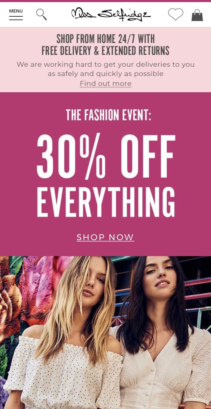 Còn gì vui hơn ở nhà shopping online: Bao nhiêu brand thời trang đang sale đây này chị em đã update chưa? - Ảnh 14.