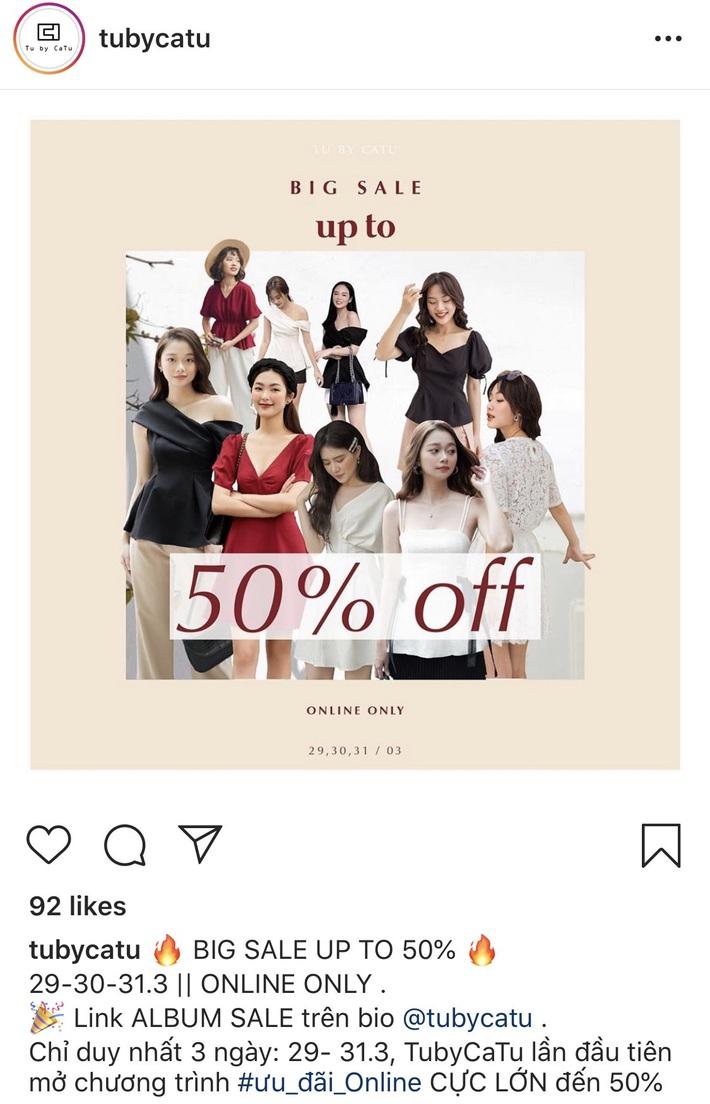 Còn gì vui hơn ở nhà shopping online: Bao nhiêu brand thời trang đang sale đây này chị em đã update chưa? - Ảnh 5.